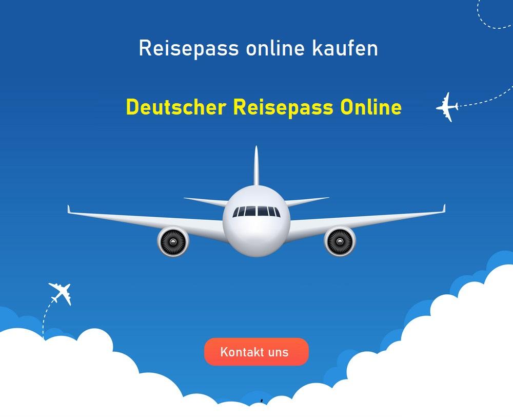 Deutscher Reisepass online